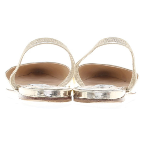 1c489a6f5abc ... Factory-Outlet-Online Jimmy Choo Slipper in Gold Gold Outlet Kaufen  Hyper Online Billig ...