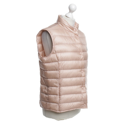 Moncler Waistcoat in blush pink