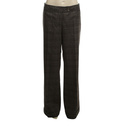 Marc Cain Marlene Trousers in Gray / Brown