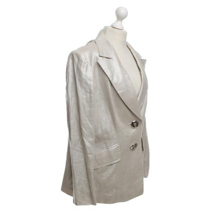 Escada giacca sportiva color argento