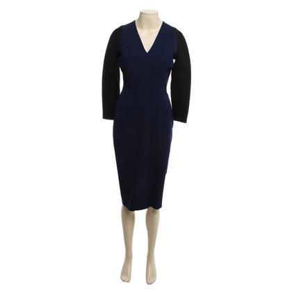 Victoria Beckham Dress in Black / Blue