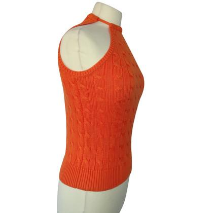 Ralph Lauren Brei Top in Orange