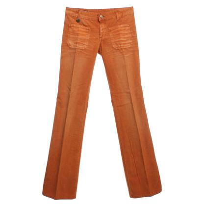 Gucci Corduroys in Orange