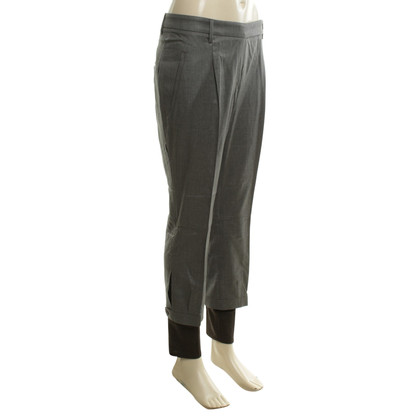 Gunex trousers with cuffs