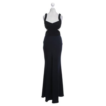 Cynthia Rowley Kleid in Schwarz/Blau