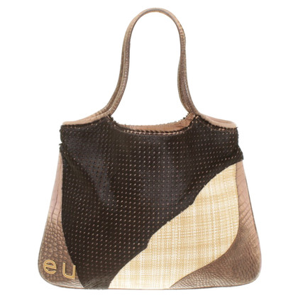 Emanuel Ungaro Handbag in patchwork design