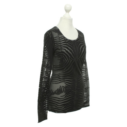 Roberto Cavalli Top in zwart