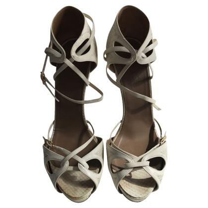 Hermès Leather Sandals Python