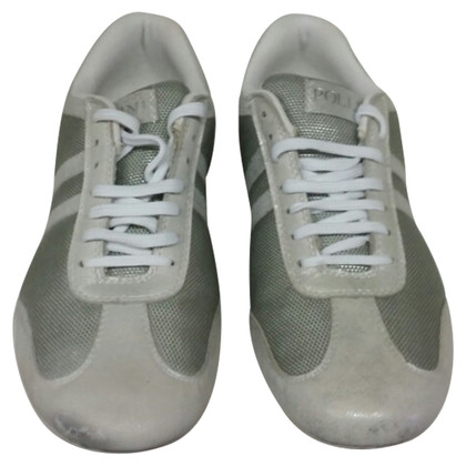 Pollini Leather sneakers
