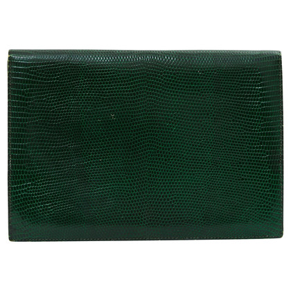 "Hermès ""Rio clutch Green Lizard"""