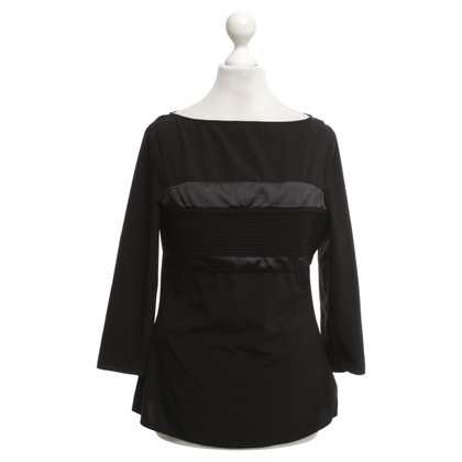 Elisabetta Franchi Top in nero