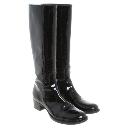 Car Shoe Stiefel in Schwarz