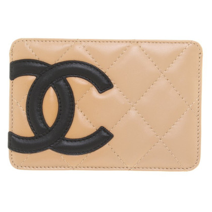 Chanel Carta di credito in Beige