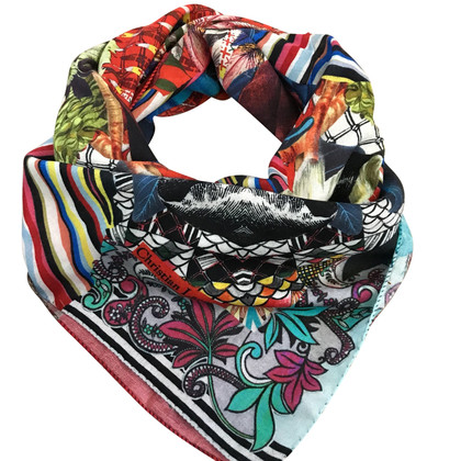 Christian Lacroix Scarf made of wool / silk