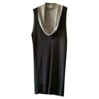 Balenciaga Robe sans manches en bicolore