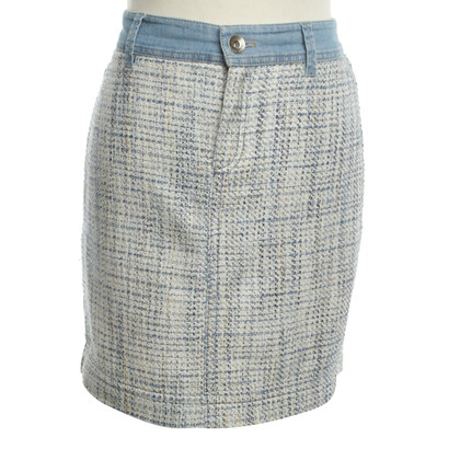 Marc Cain skirt with woven structure