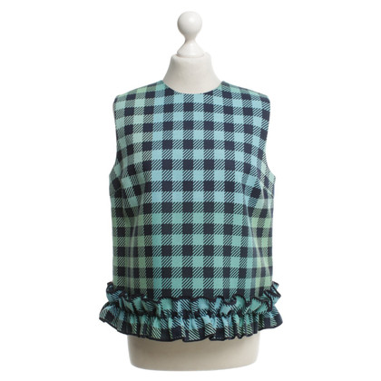Victoria Beckham Top with pattern and frills