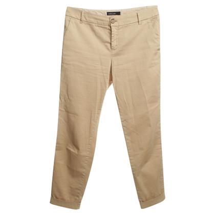Marc Cain Katoenen broek in beige