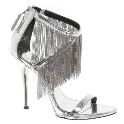Brian Atwood Sandaletten in Silber