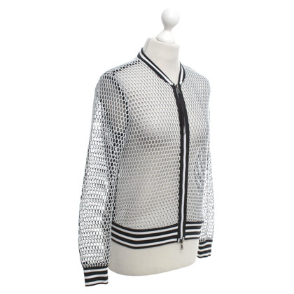 Marc Cain Mesh jacket made of net