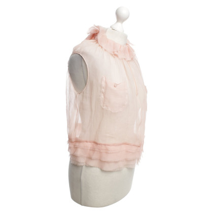 Nina Ricci Silk blouse in pink