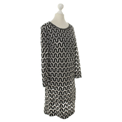 Riani zwart/wit jurk