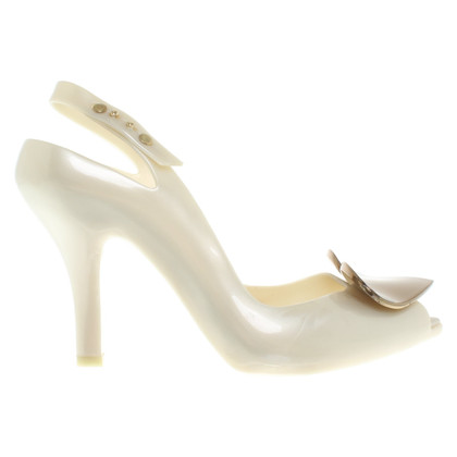 Vivienne Westwood pumps in cream-white