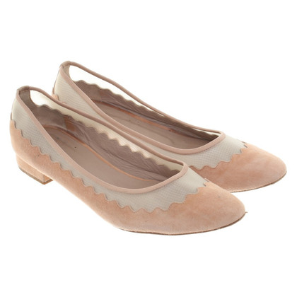 Chloé Ballerinas in Nude