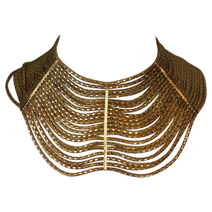 Ferre Necklace gold wide