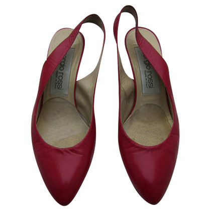 Sergio Rossi Pumps in red