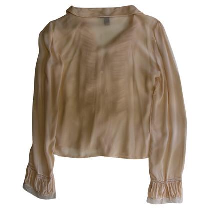 Donna Karan Shirt aus Seide