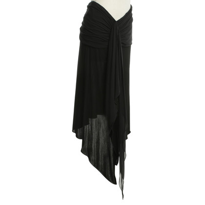 Etro Asymmetrical skirt in black