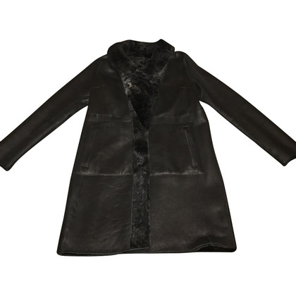 Drome Cappotto in montone reversibile