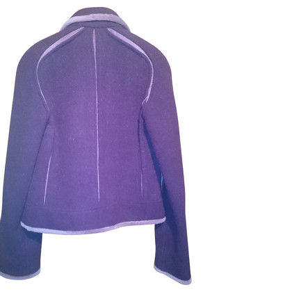 Fendi Wolljacke in Violett