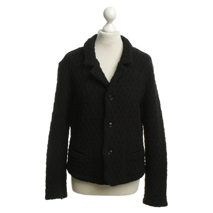 Omen Strickjacke in Schwarz