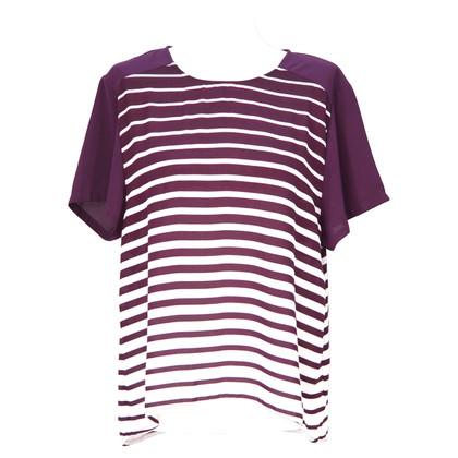 Calvin Klein Striped Blouse