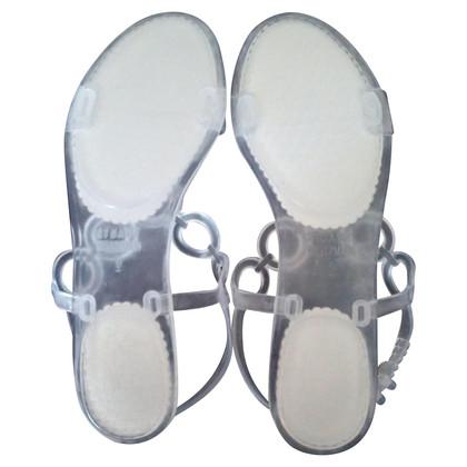 Stuart Weitzman rubberen sandalen