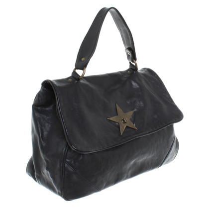 Rika Leather bag in black