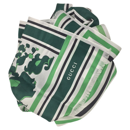 Gucci Green silk cloth