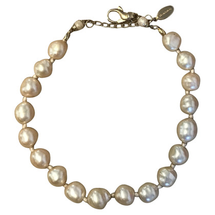 Borbonese Necklace type baroque pearls