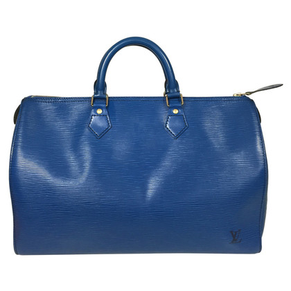 "Louis Vuitton ""Speedy 35 Epi"" in Blau"