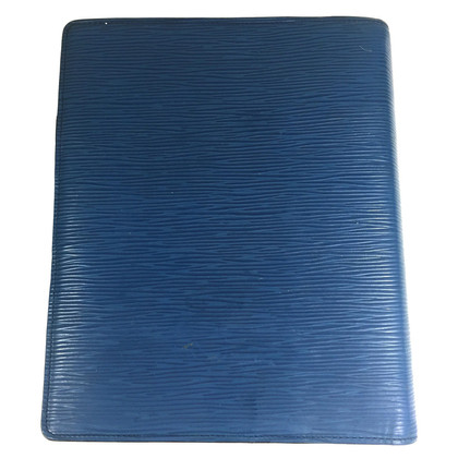 "Louis Vuitton ""Agenda Fonctionnel GM Epi Leder"" in Blau"
