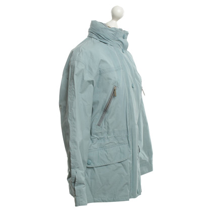 Barbour Regenjacke in Türkis