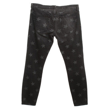 Current Elliott Jeans met print