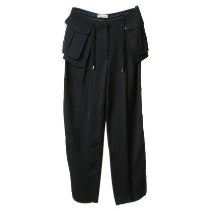 Costume National Pantaloni blu scuro
