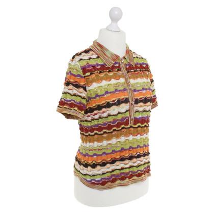Missoni Polo shirt with stripe pattern