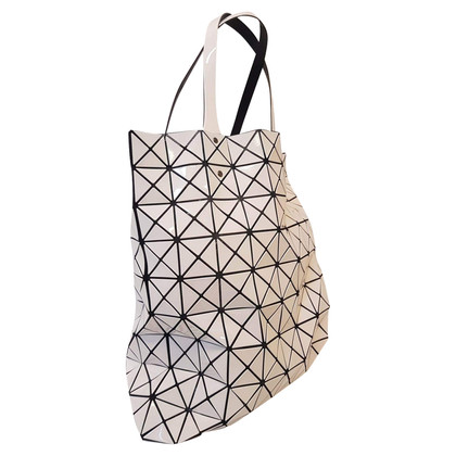 "Issey Miyake ""Bao Bao Prism Tote"" in white"