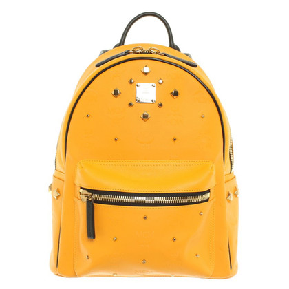 MCM Backpack in Orange