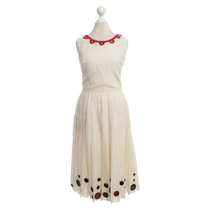 Prada Dress with crochet appliqué