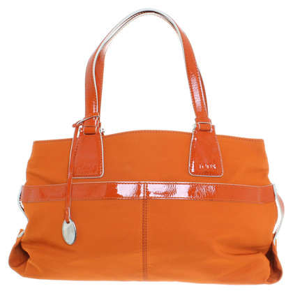 Tod's Handbag with lacquer elements